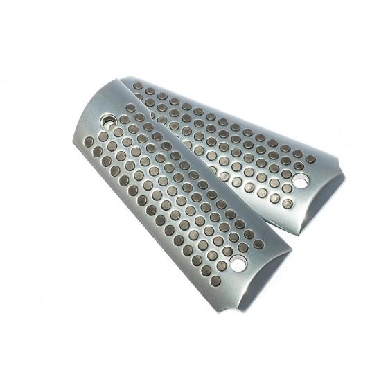 Aluminum Grips, gry coated