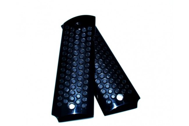 Aluminum Grips, gry coated