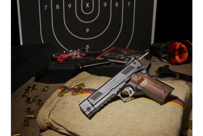 Detailansicht Pistole PRS 5 - Mündung