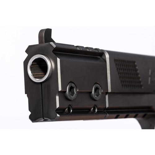Detailansicht Pistole PRS 6 - Mündung