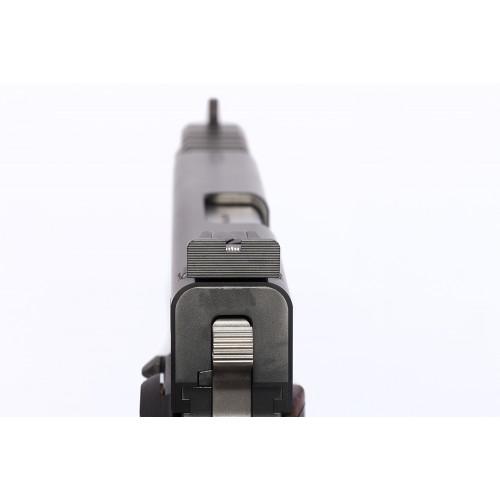 Detailansicht Pistole PRS 6 - Rückseite