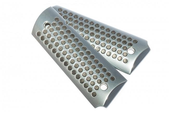 Design Griffschalen Space Grau mit schwarzen Noppen