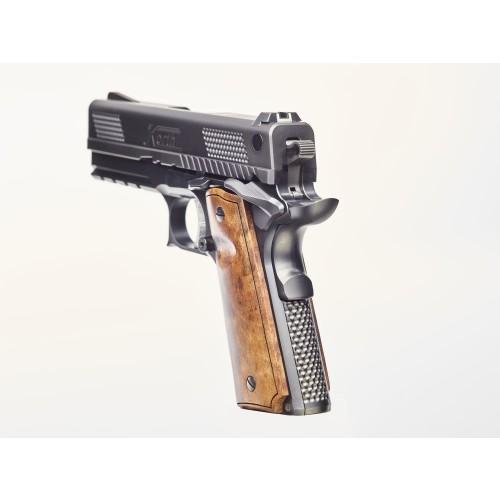 Detailansicht Pistole PRS 4 - linke Seite