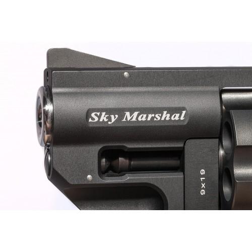 Detailansicht Sky Marshal Knall - Lauf Branding